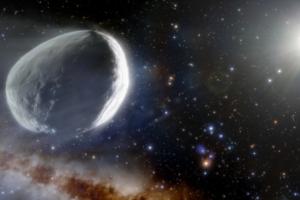 Астрономы обнаружили крупнейшую комету в истории наблюдений