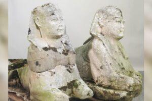 Британские садовые статуи оказались ценными древнеегипетскими реликвиями