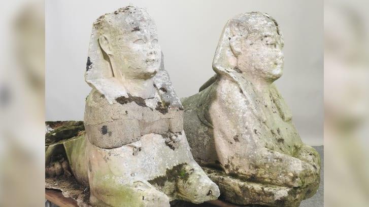 Британские садовые статуи оказались ценными древнеегипетскими реликвиями.Вокруг Света. Украина