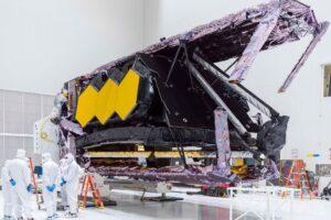 Началась подготовка к запуску «Джеймса Уэбба». Он заменит «Хаббл»