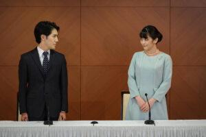 Японская принцесса вышла замуж и утратила титул
